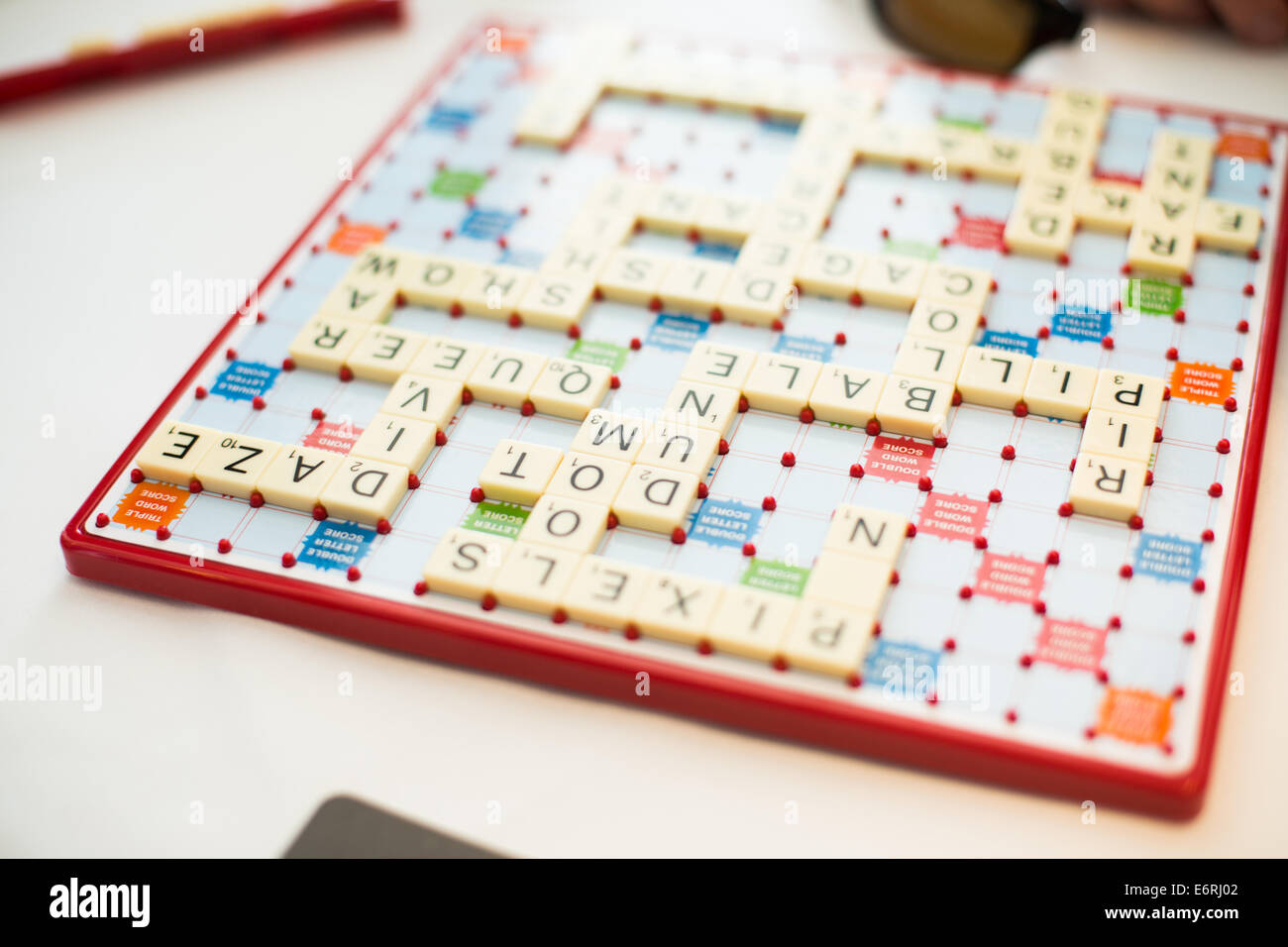 Scrabble Board Stock Photos & Scrabble Board Stock Images