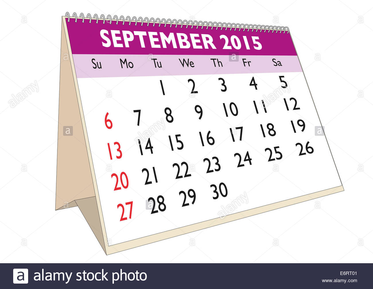september month in a year 2015 calendar in english week starts on