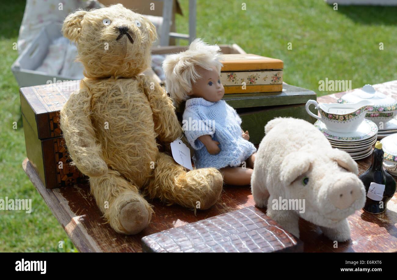 Teddy bears, Newark Showground, Nottingham, England. - Stock Image