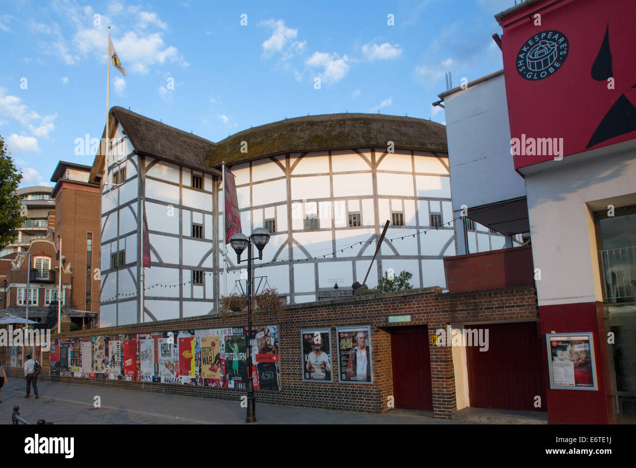 Shakespeare's Globe Theater - Stock Image