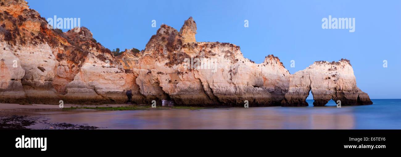 Prainha, Portimão, Algarve Portugal, Beach - Stock Image