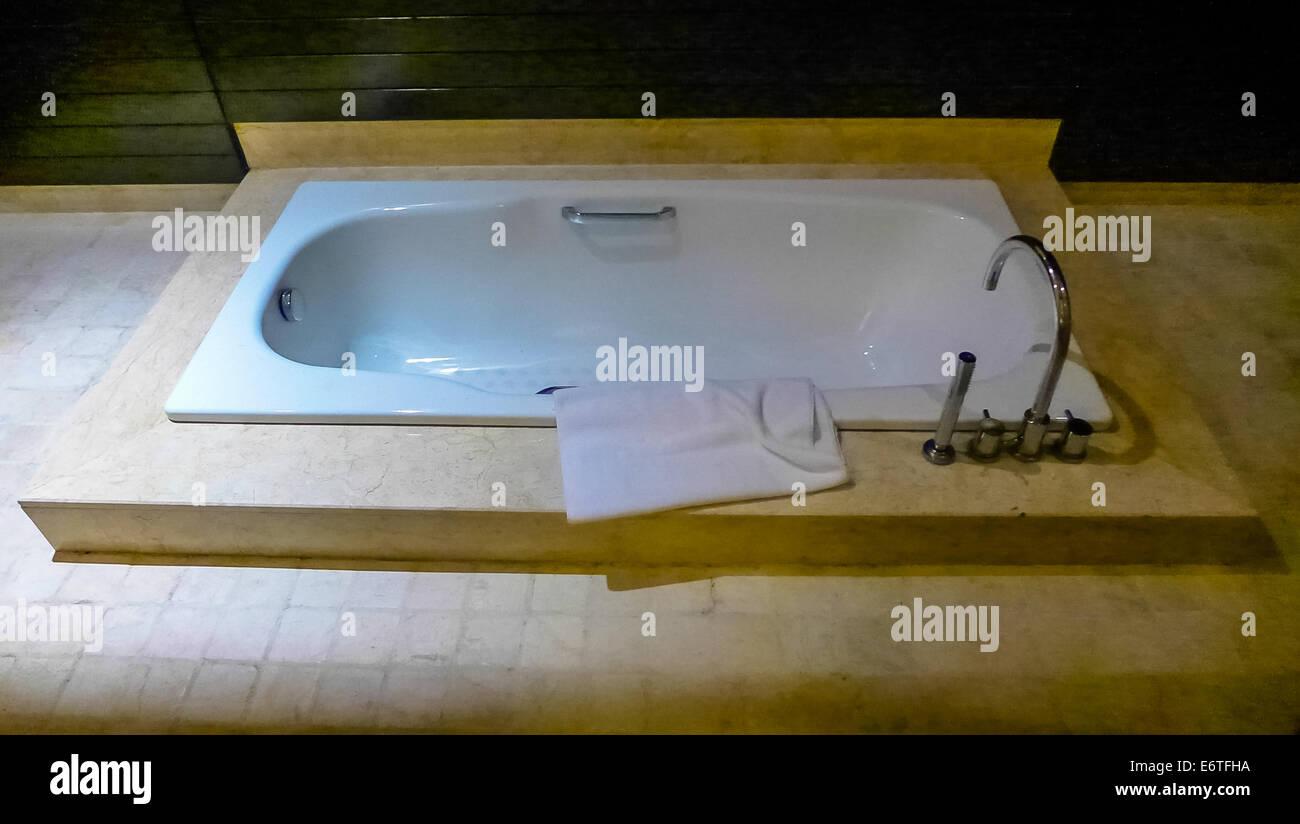 Bath tub - Stock Image