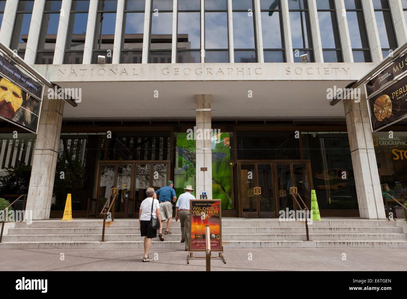 National Geographic Society headquarters building - Washington, DC USA - Stock Image