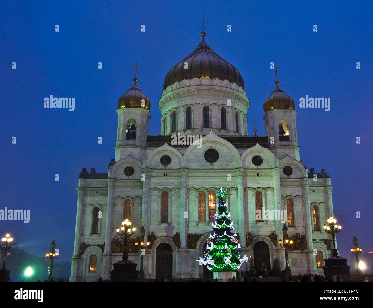 Christmas tree in the Cathedral of Christ the Savior 2019 71