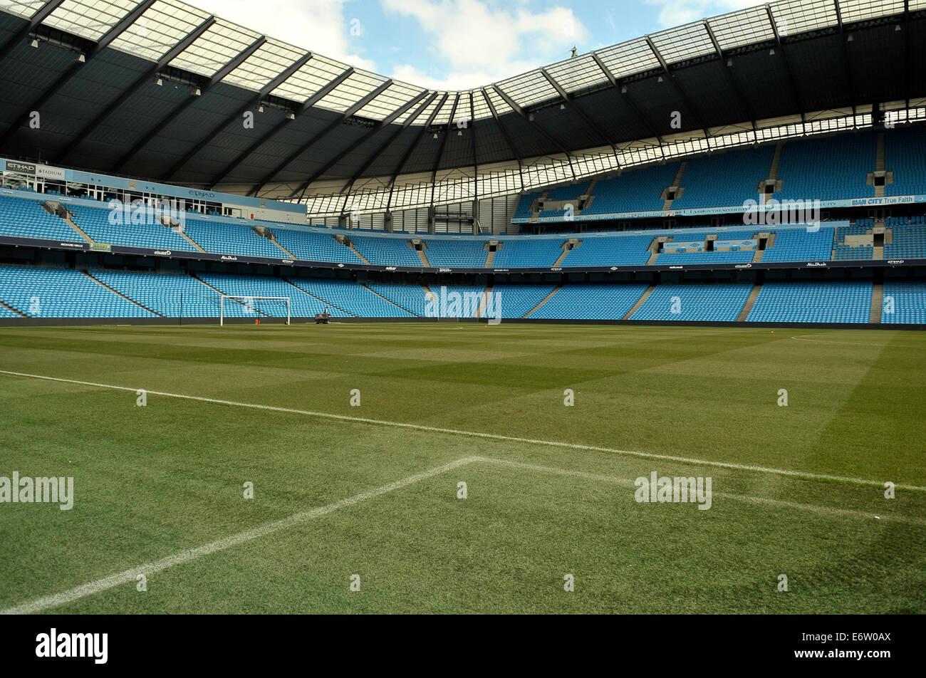 etihad stadium - Stock Image