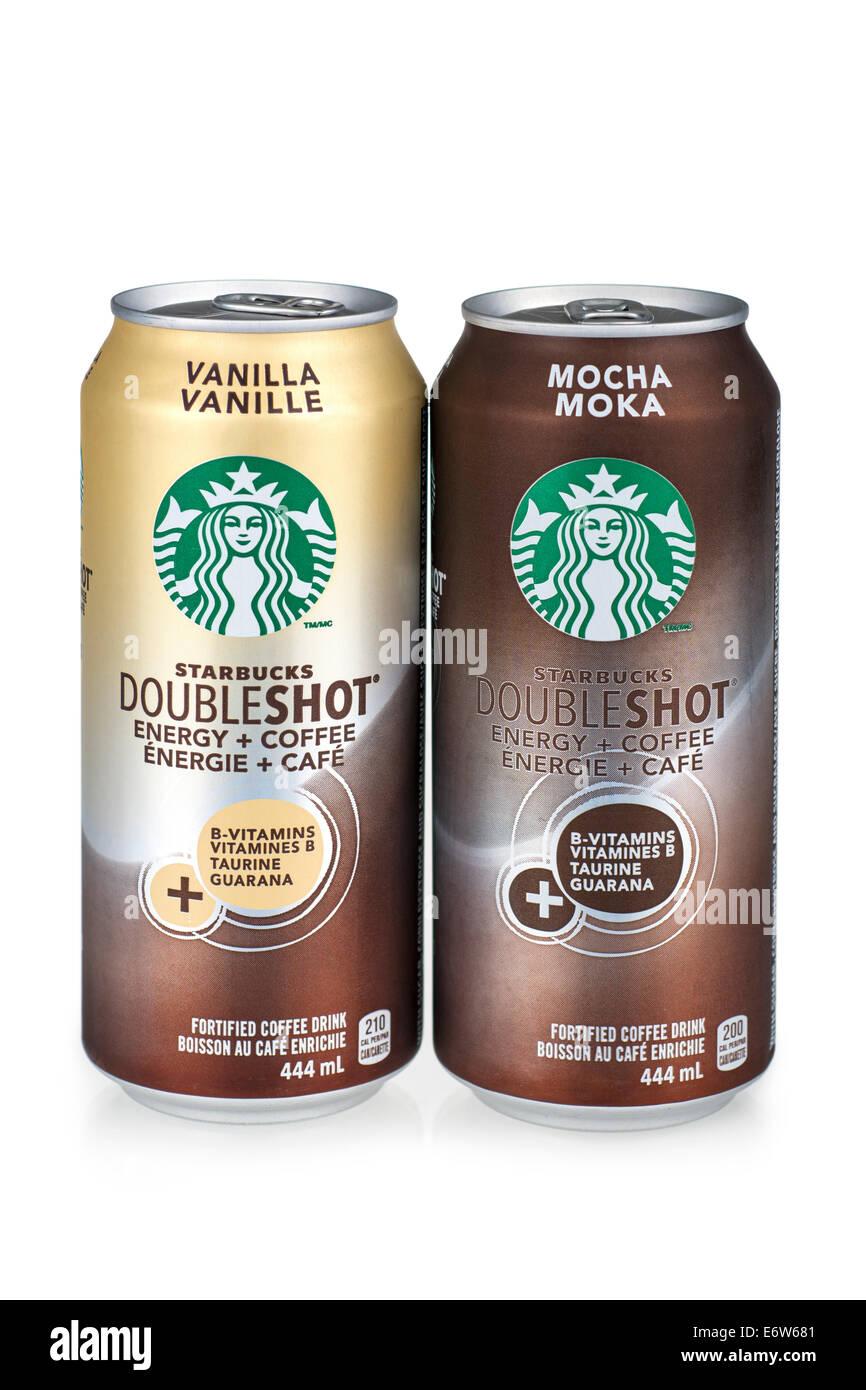 Starbucks Doubleshot Stock Photo 73083137 Alamy
