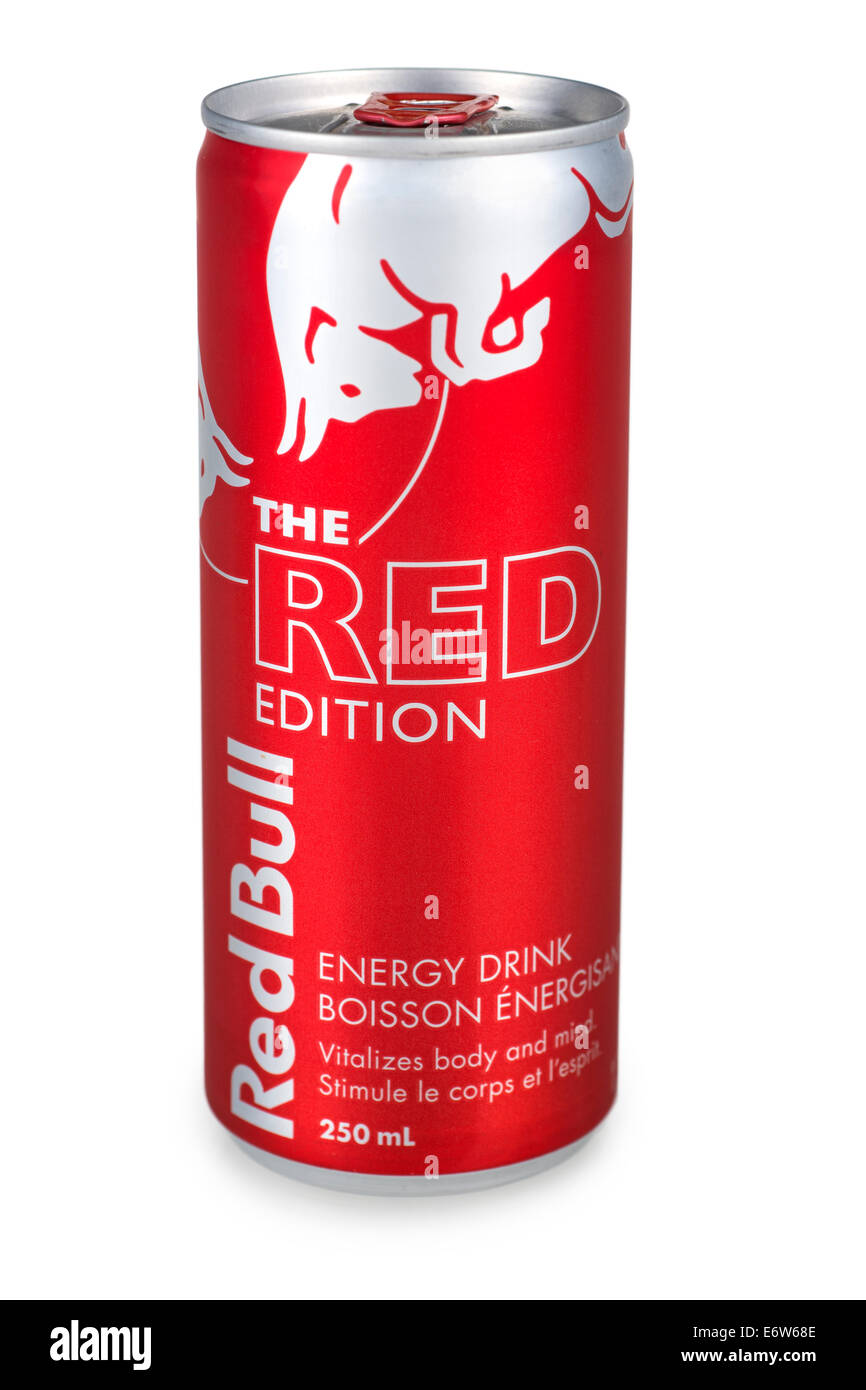 Drink Can From Blank Aluminum Stock Photo: Red Bull Energy Drink Stock Photos & Red Bull Energy Drink