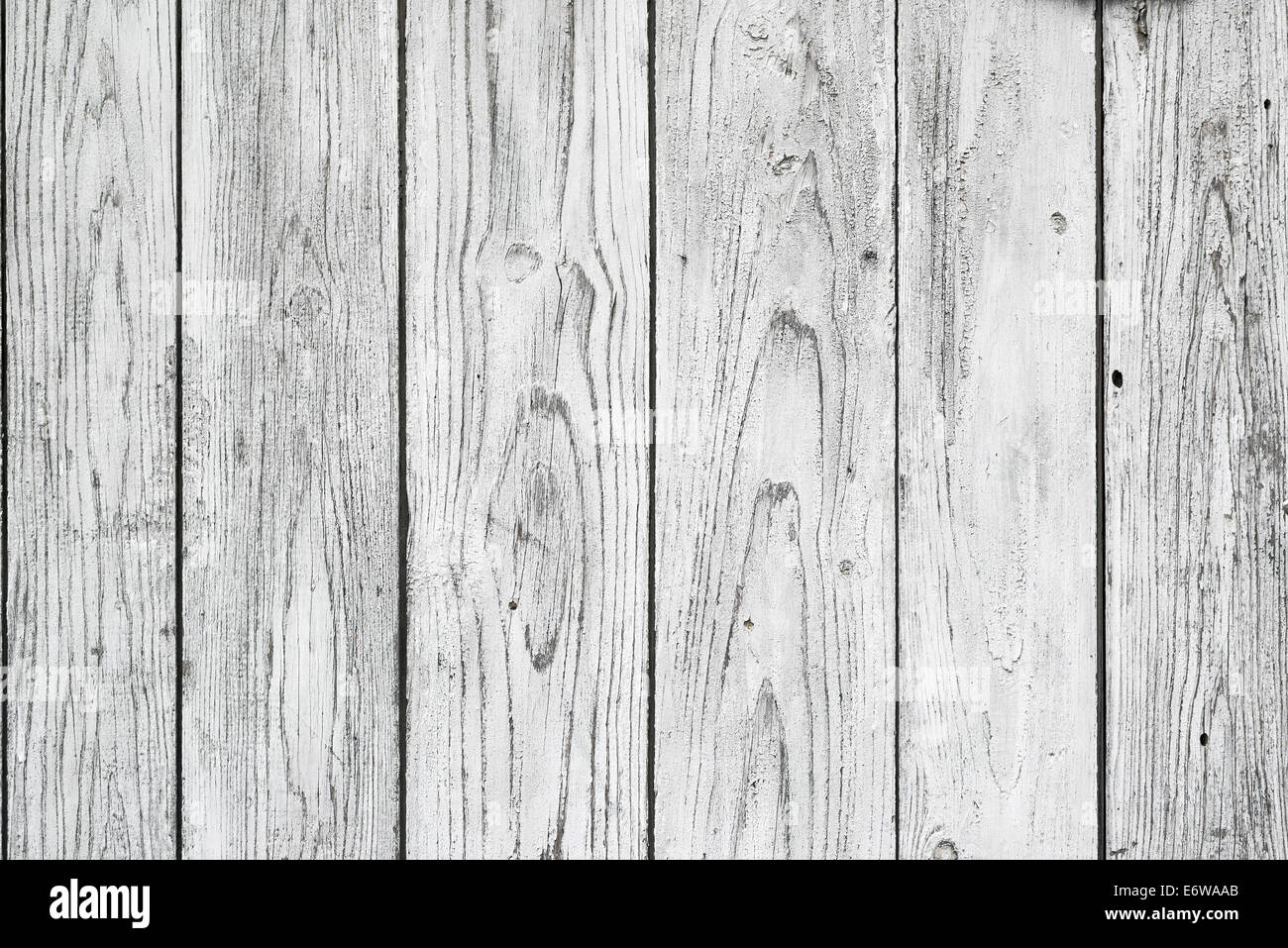 White Wood Planks Texture As Background