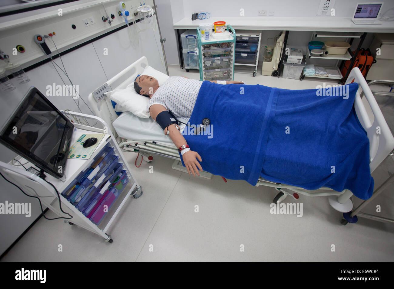 Metiman medical simulator - Stock Image