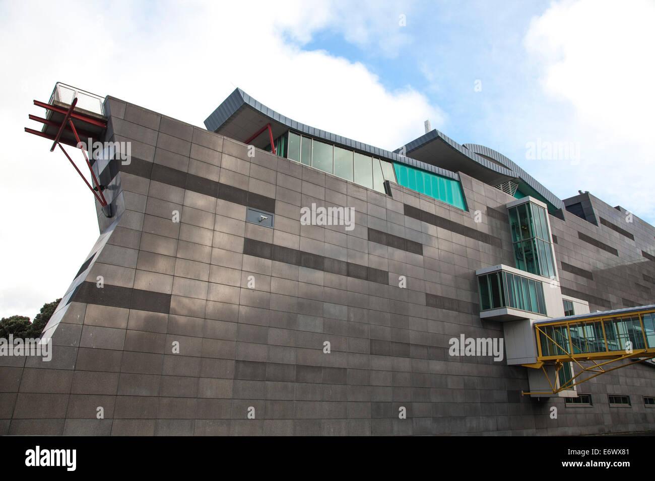 Te Papa Museum, National Museum Wellington, Wellington, North Island, New Zealand - Stock Image