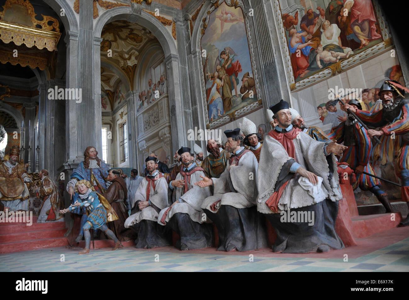 Sacro Monte Dorta Stock Photos & Sacro Monte Dorta Stock Images - Alamy