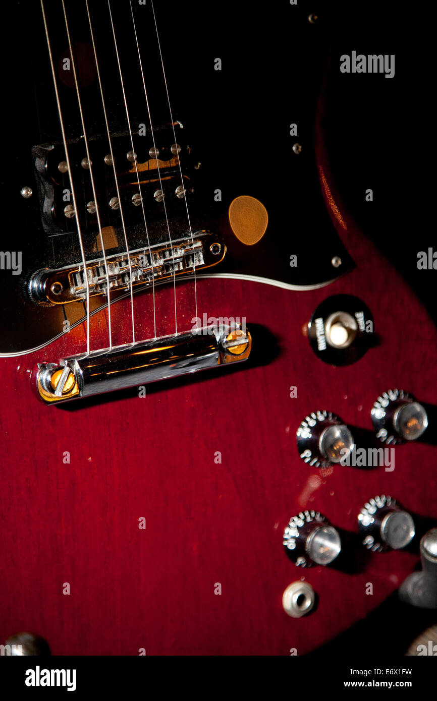 gibson sg stock photos gibson sg stock images alamy. Black Bedroom Furniture Sets. Home Design Ideas