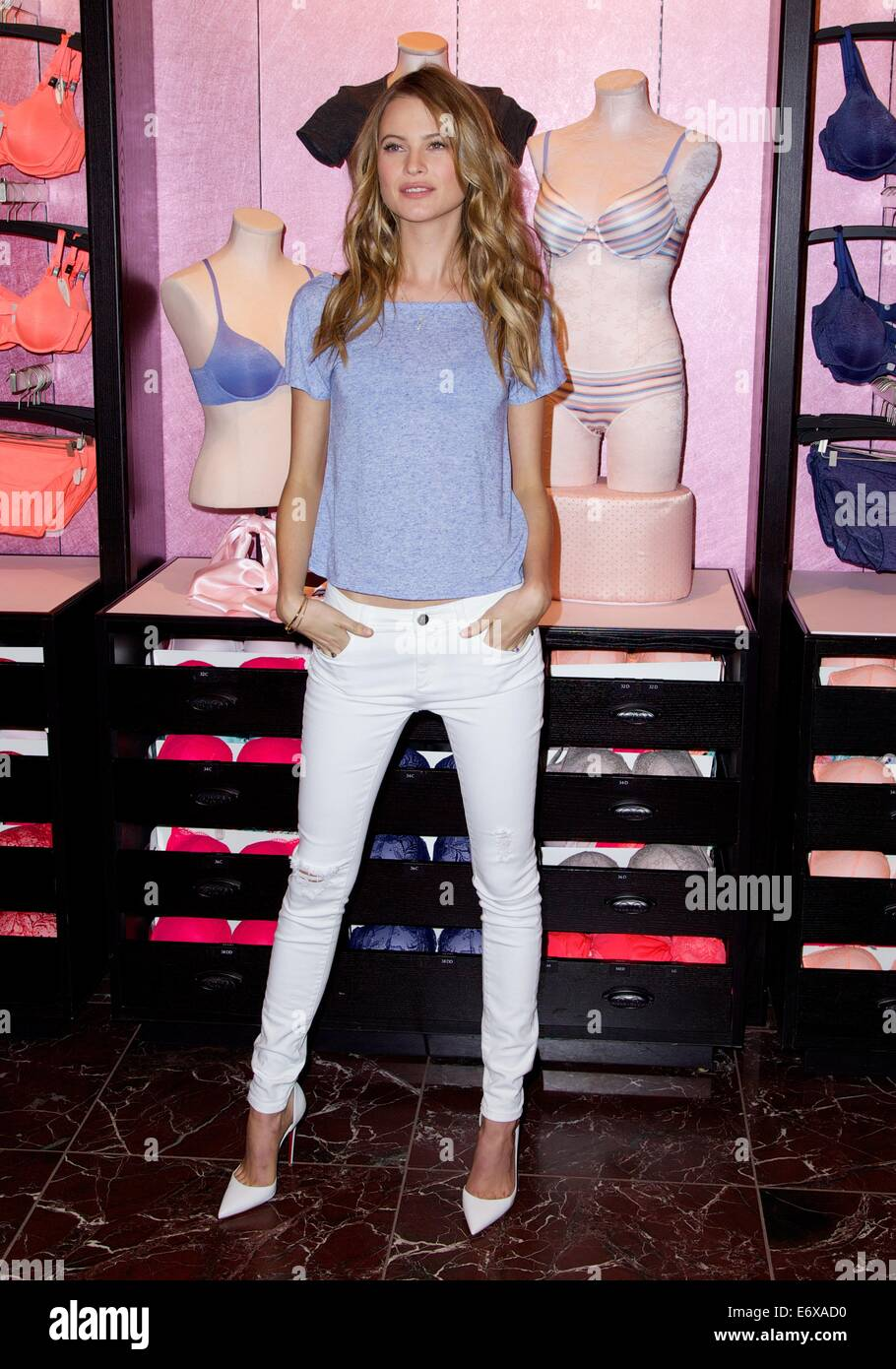 4ad7af4997326 Victoria's Secret and Behati Prinsloo introduce this spring's ...