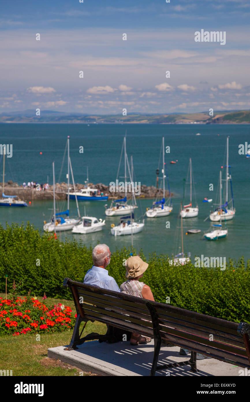 New Quay, Ceredigion, West Wales, U.K. - Stock Image