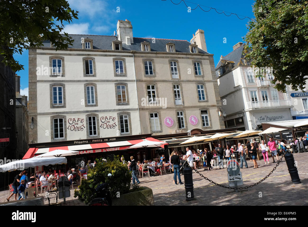 st malo, brittany, france - Stock Image