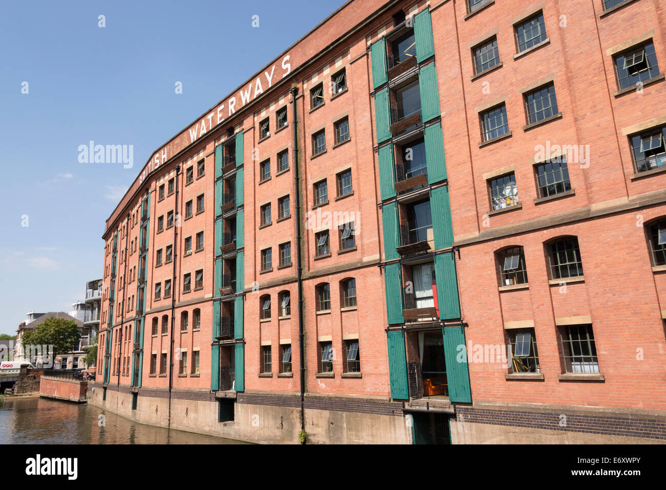 The British Waterways Building (now home to the Glee Club) Nottingham, Nottinghamshire, England, UK. - Stock Image