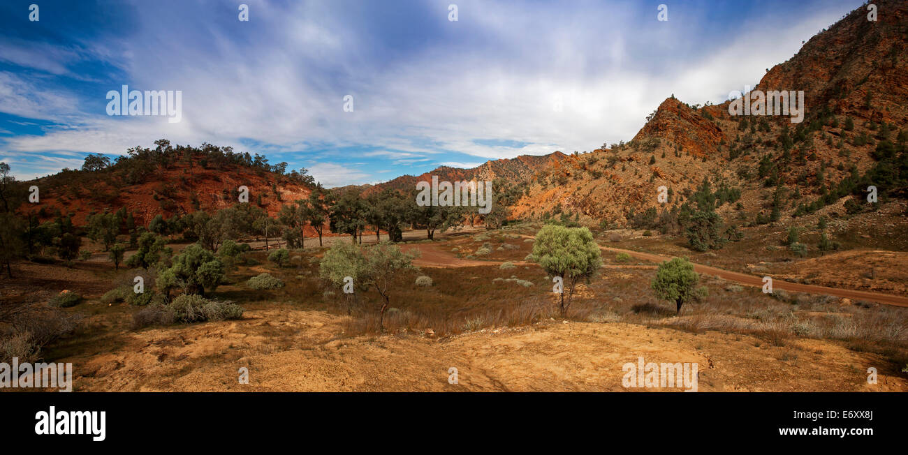 Brachina Gorge, Flinders Ranges National Park, South Australia, Australia - Stock Image