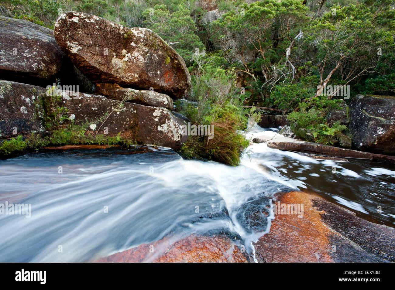 Genoa Falls, Croajingolong National Park, Victoria, Australia - Stock Image