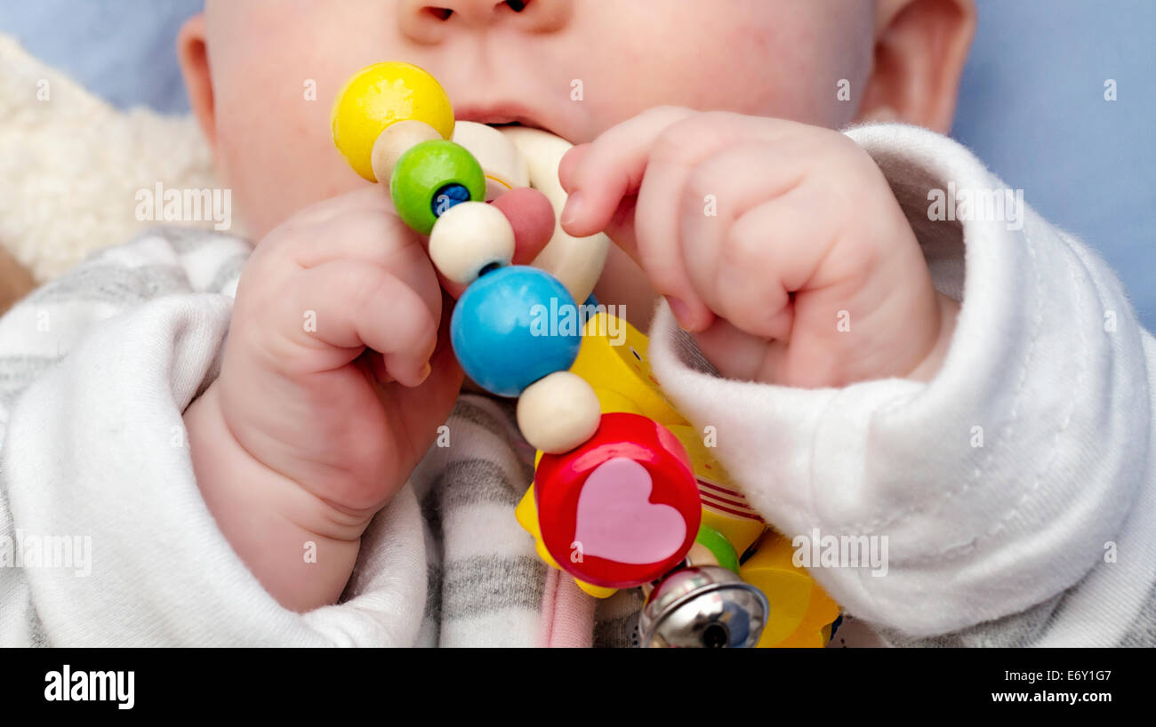 Baby Hands - Stock Image