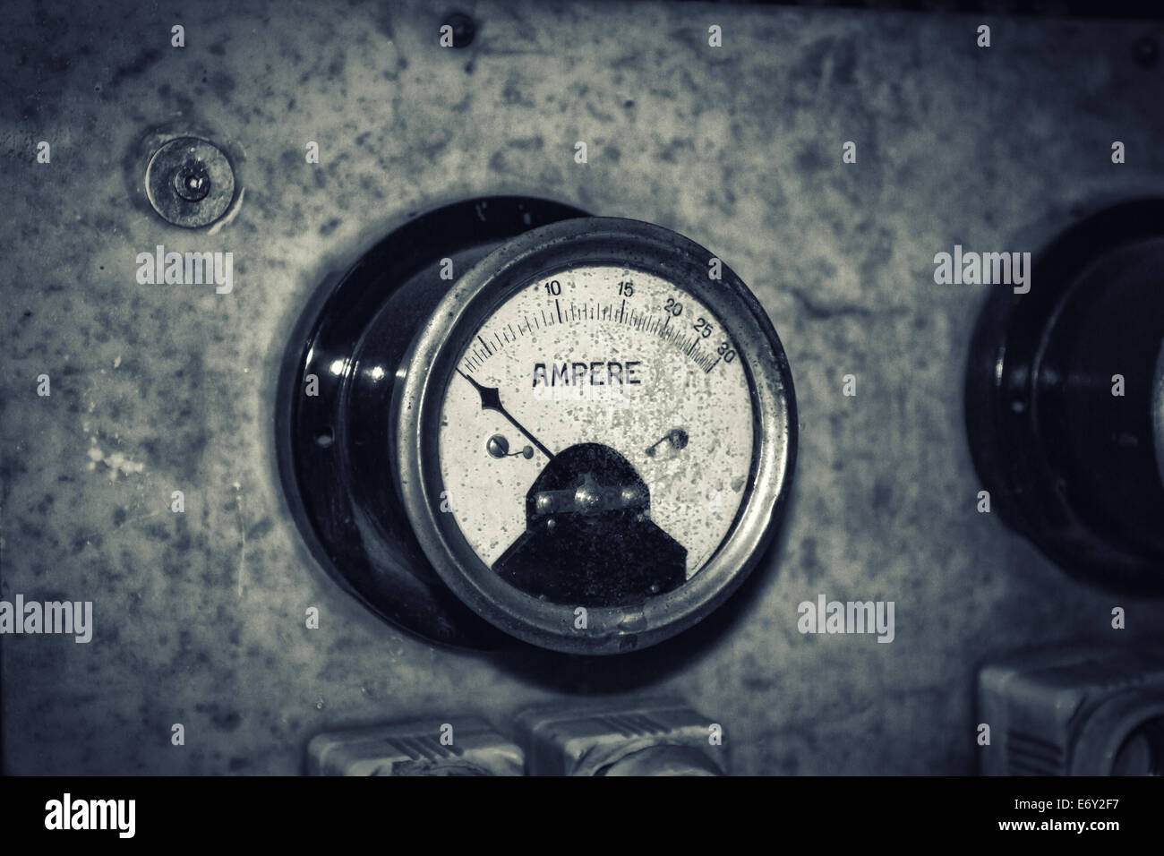 Ampere - Stock Image