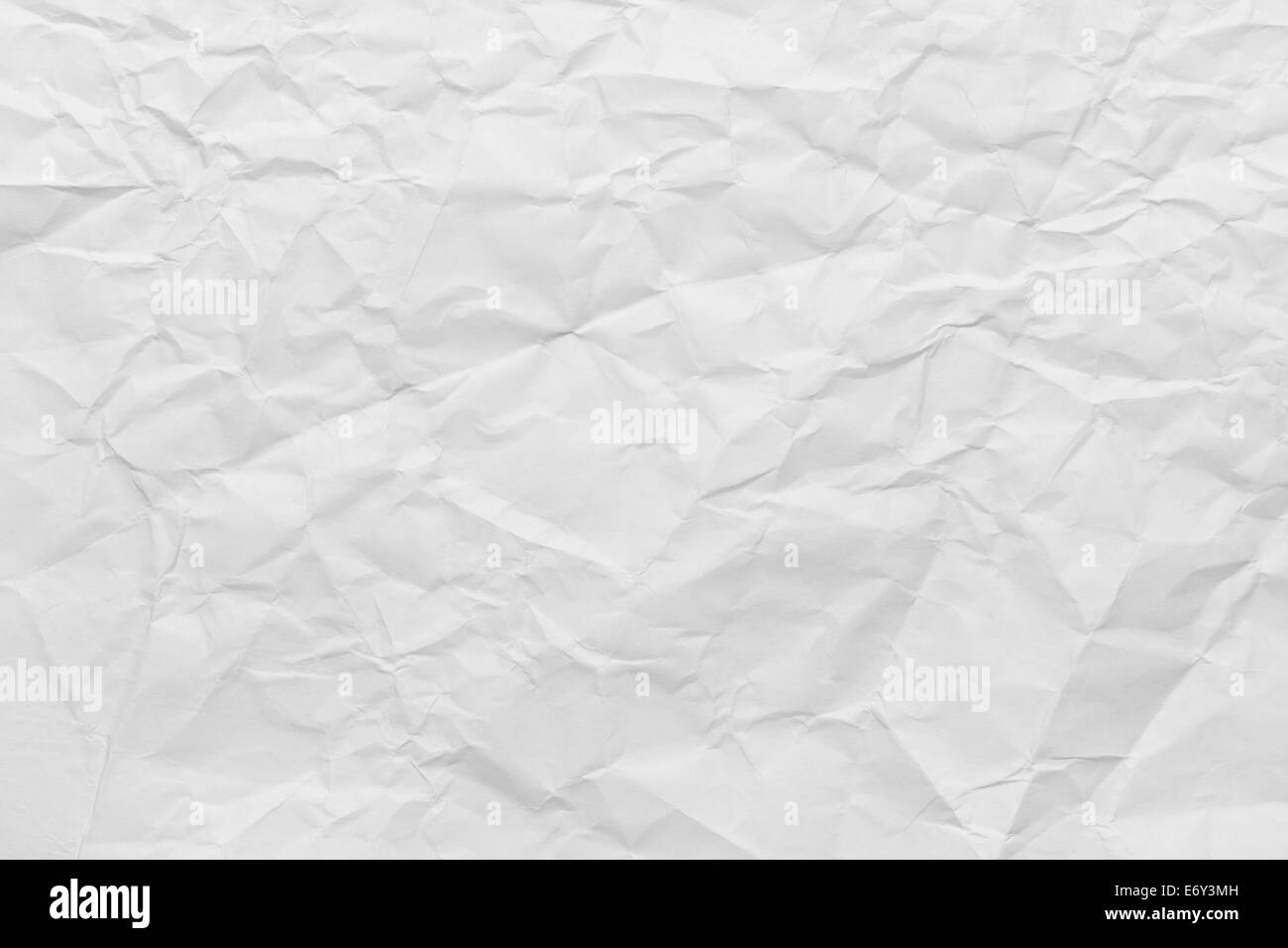 Sheet of Printer Paper Wrinkled Background. - Stock Image