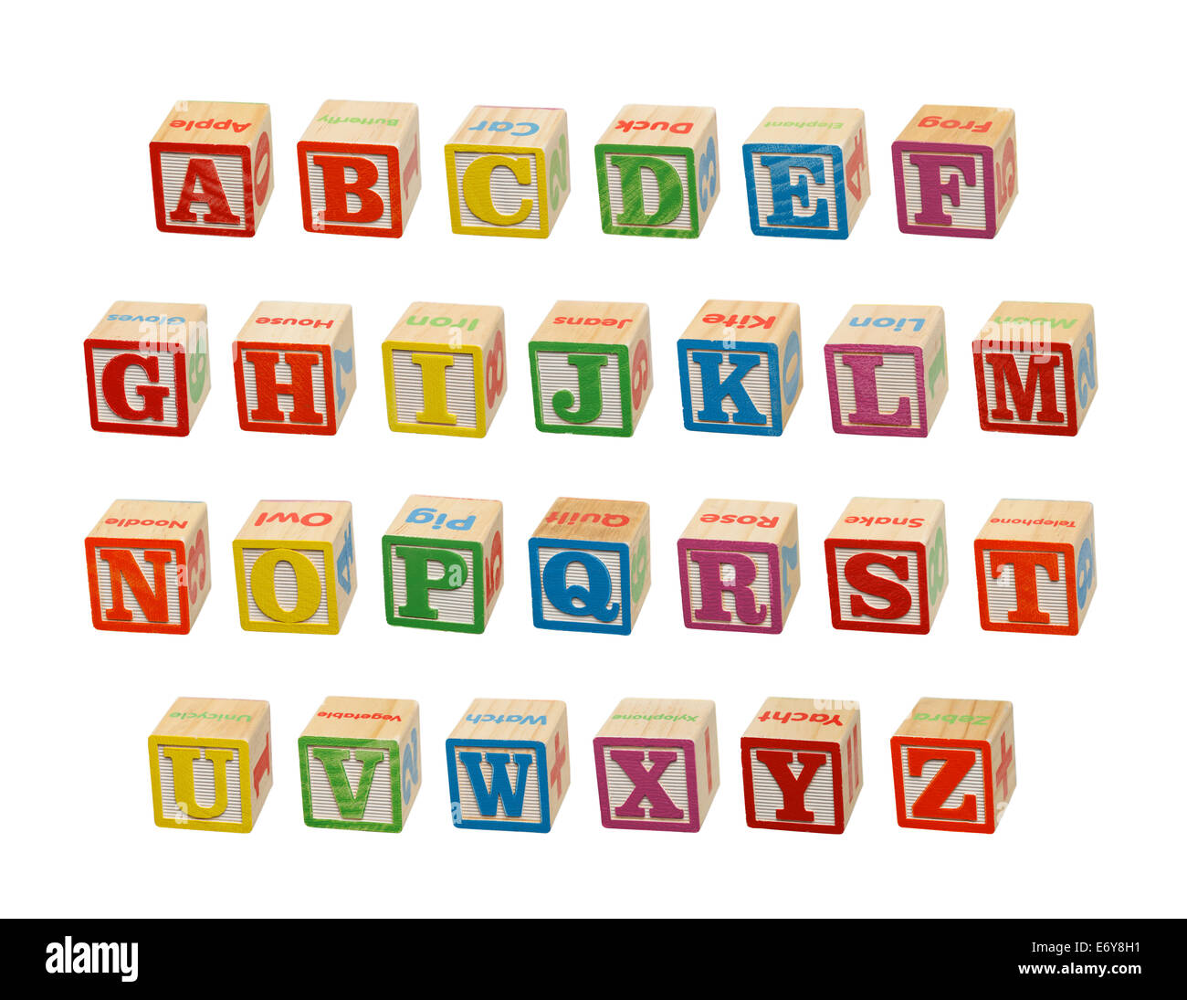 colored letter blocks stock photos colored letter blocks stock