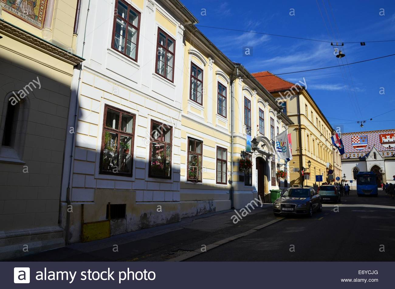 Croatian Museum of Naive Art, upper town, Zagreb, Croatia Stock Photo