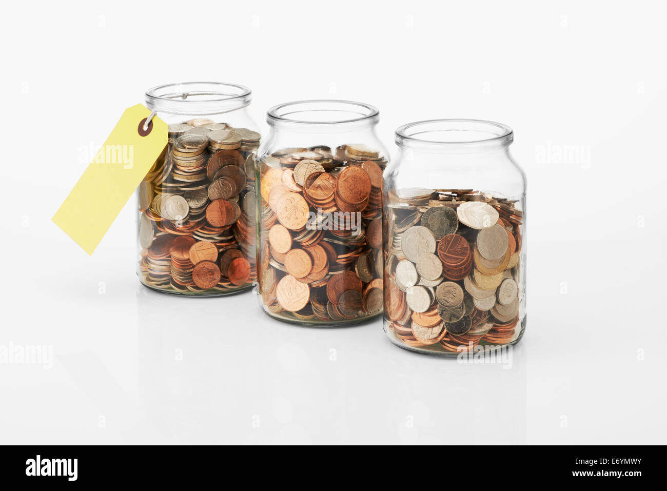 Savings Jar Stock Photo