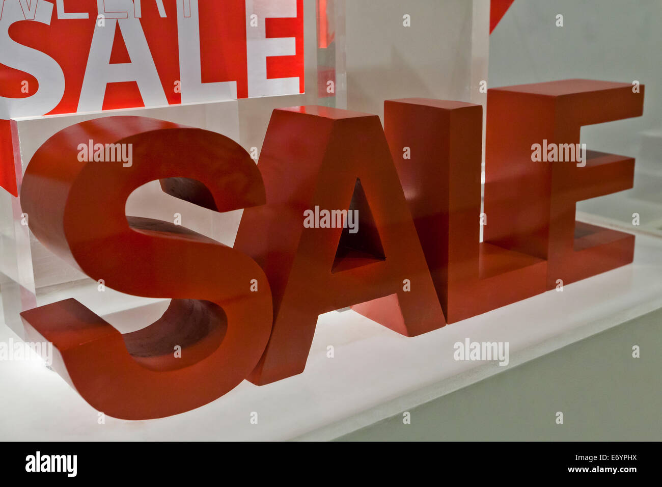 Sale sign - Stock Image