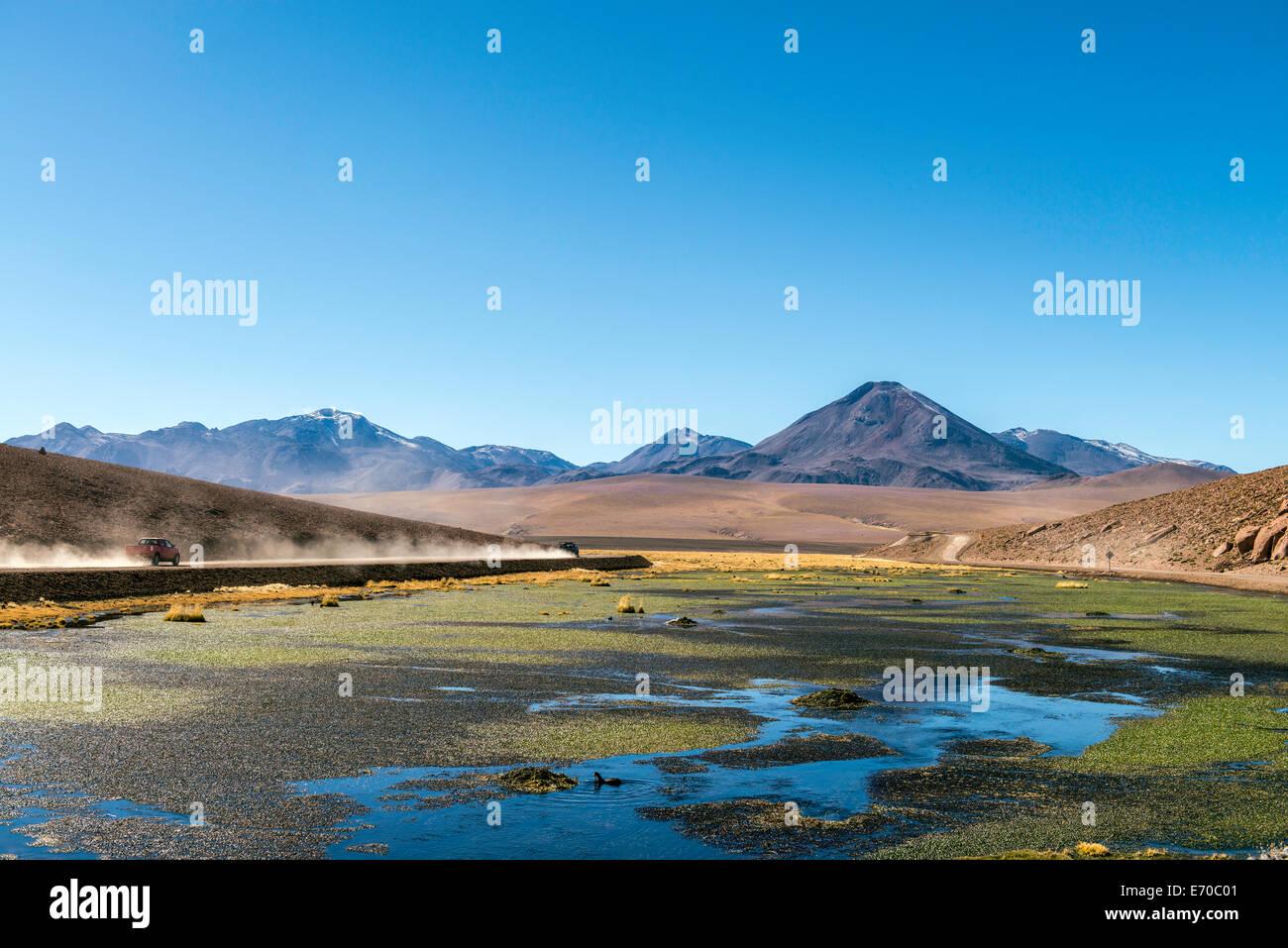 Putana river San Pedro de Atacama Chile South America - Stock Image