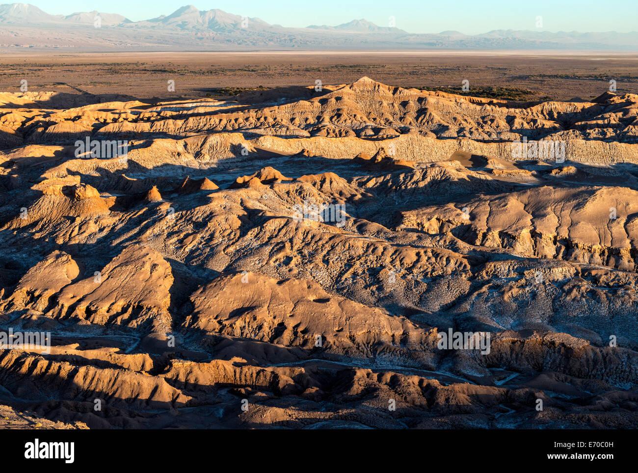 Moon Valley San Pedro de Atacama Chile South America - Stock Image