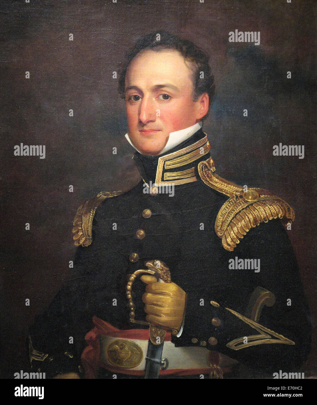 Constant Mathieu Eakin 1823 Graduated from West Point 1817 Assistant Professor of Engineering Stock Photo