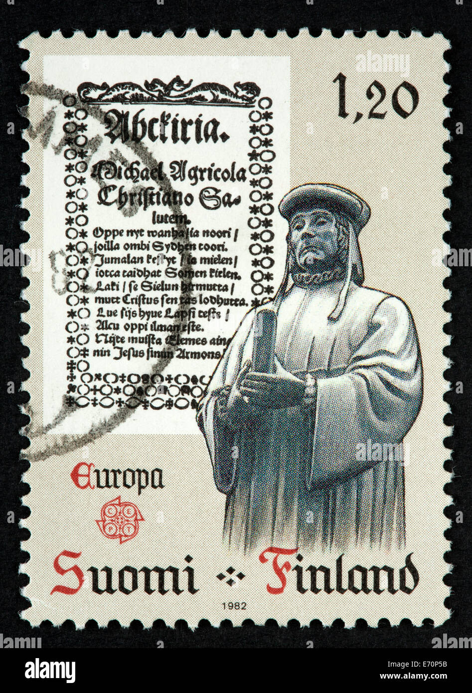 Postage Stamp Finland Stock Photos & Postage Stamp Finland Stock