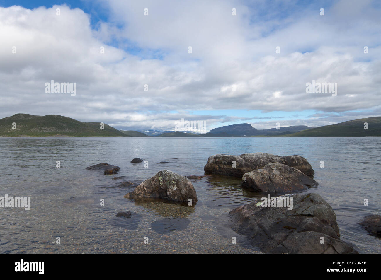 Kilpisjärvi - Stock Image