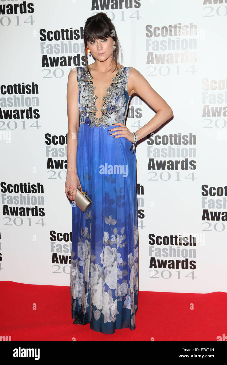 Lilah Parsons arriving for the Scottish Fashion Awards 2014, London. 01/09/2014/picture alliance - Stock Image