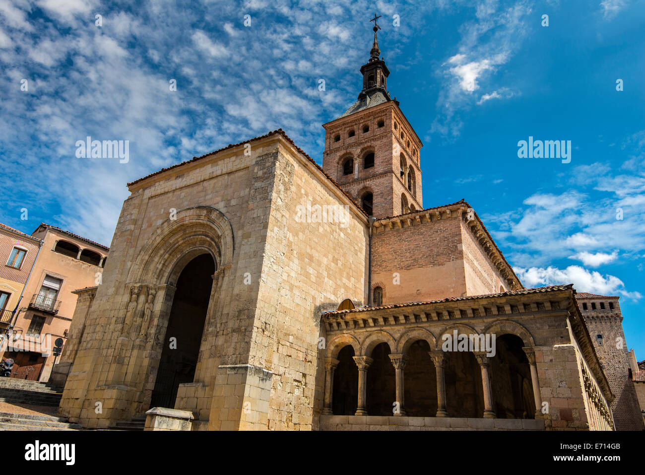 San Martin church, Segovia, Castile and Leon, Spain - Stock Image