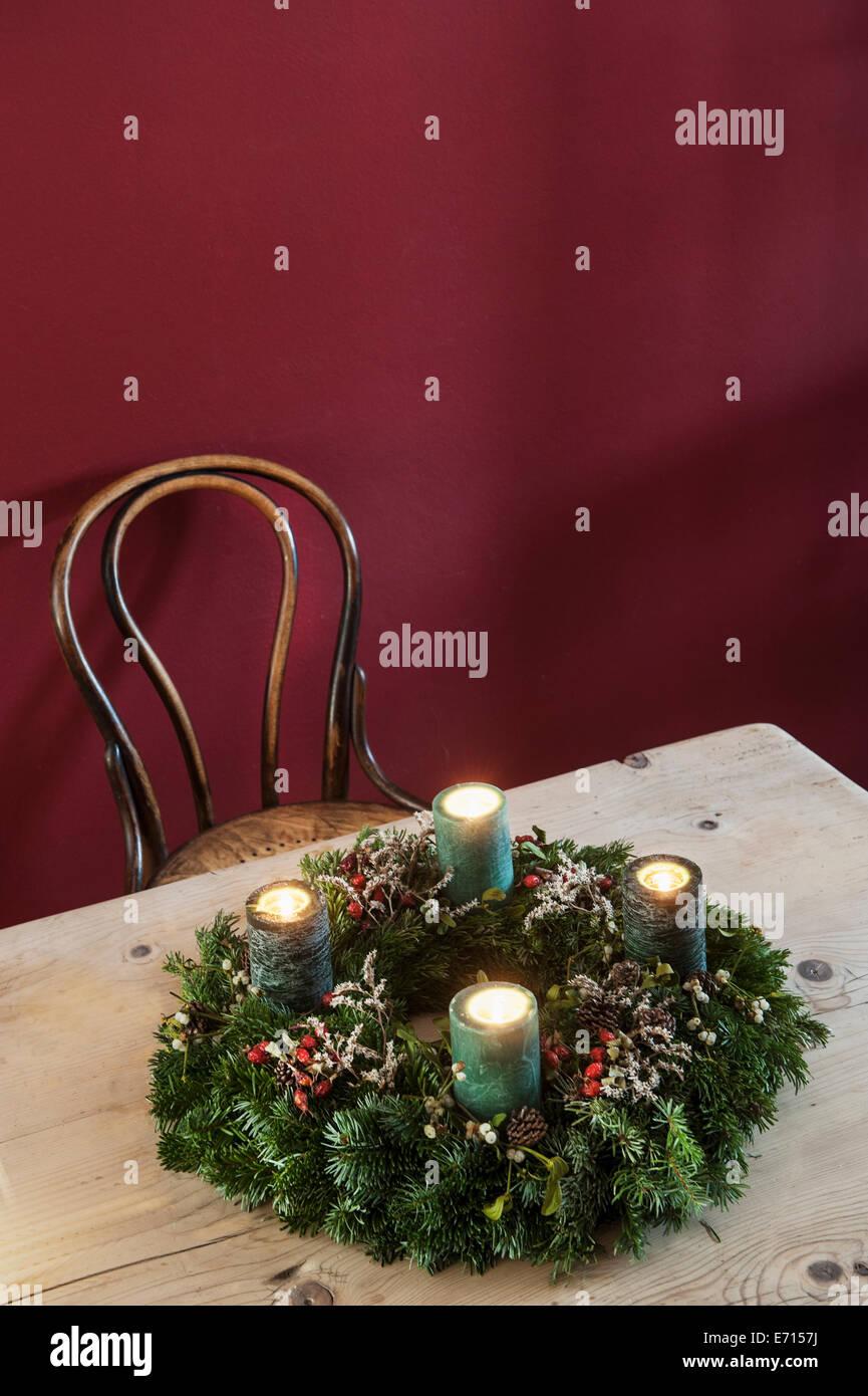 Advent Wreath German Stock Photos Advent Wreath German Stock