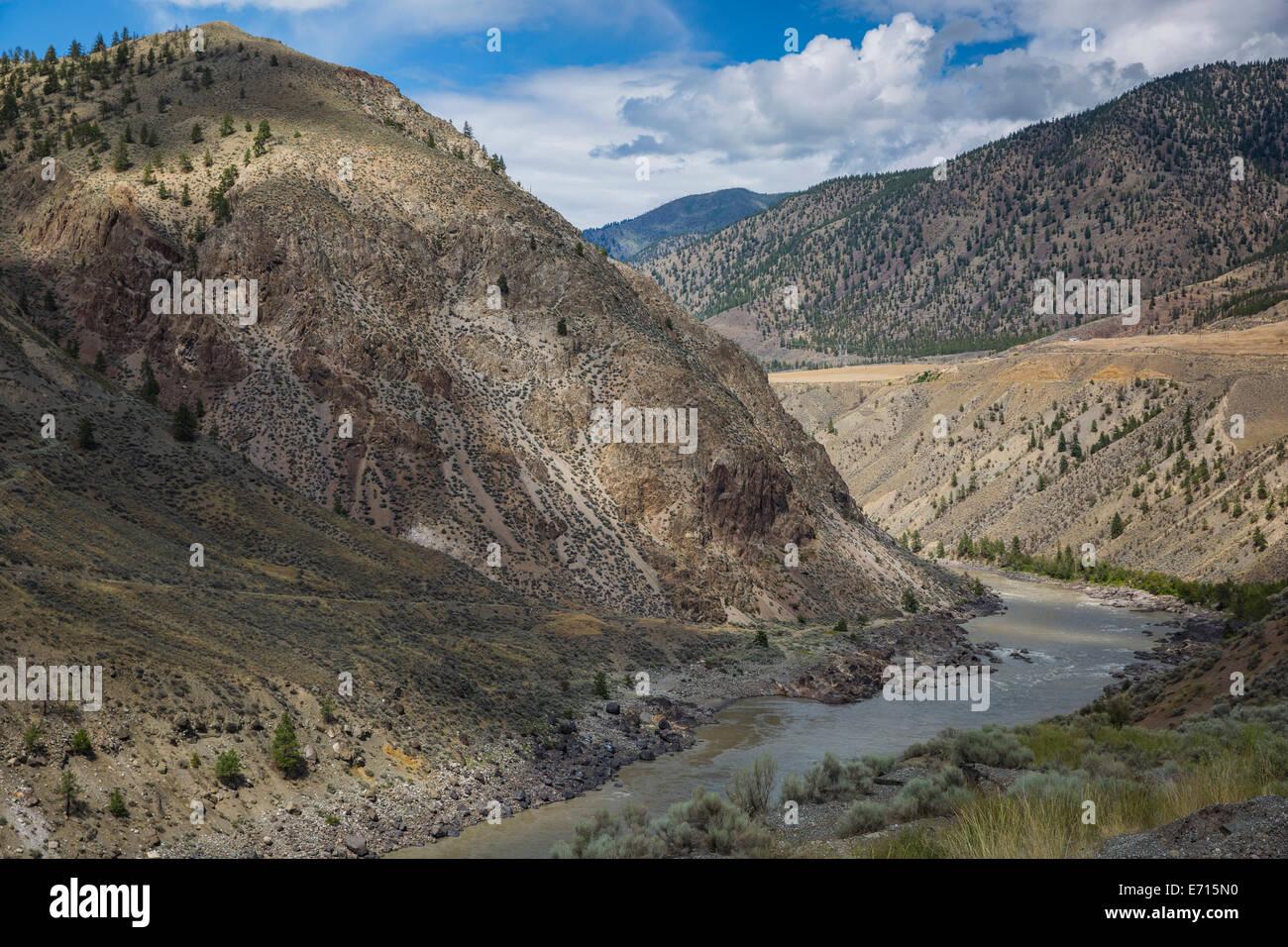 Canada, British Columbia, Summer at Cache creek - Stock Image