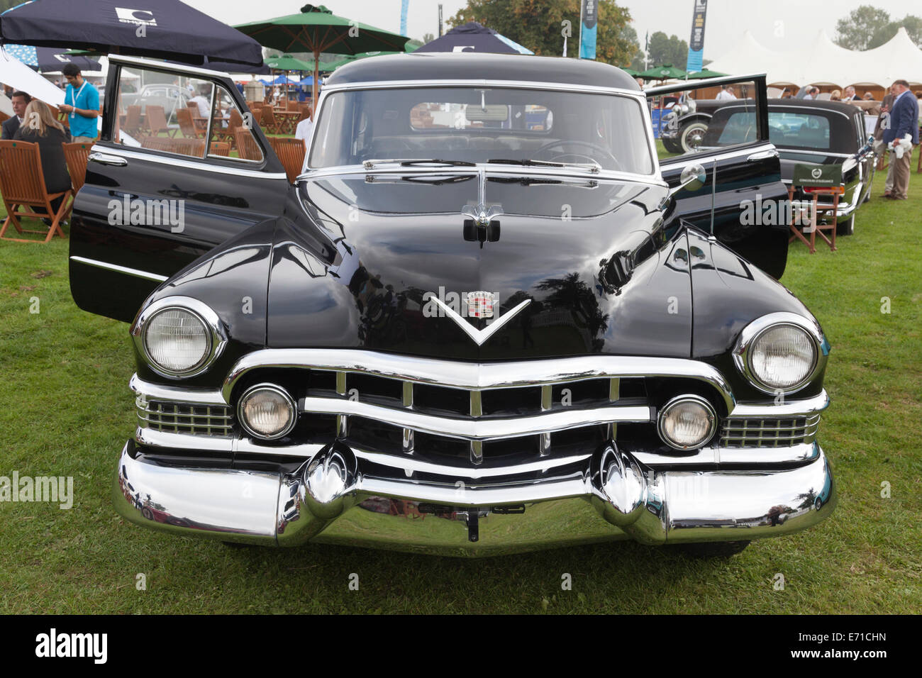 Cadillac Limousine Stock Photos Images 1951 Convertible For Sale The Which Served As Official State Eva And Juan Peron