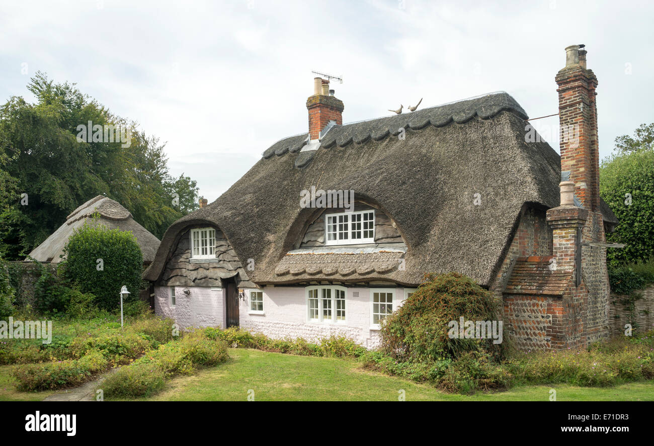 Manor Cottage, East Preston, West Sussex. - Stock Image