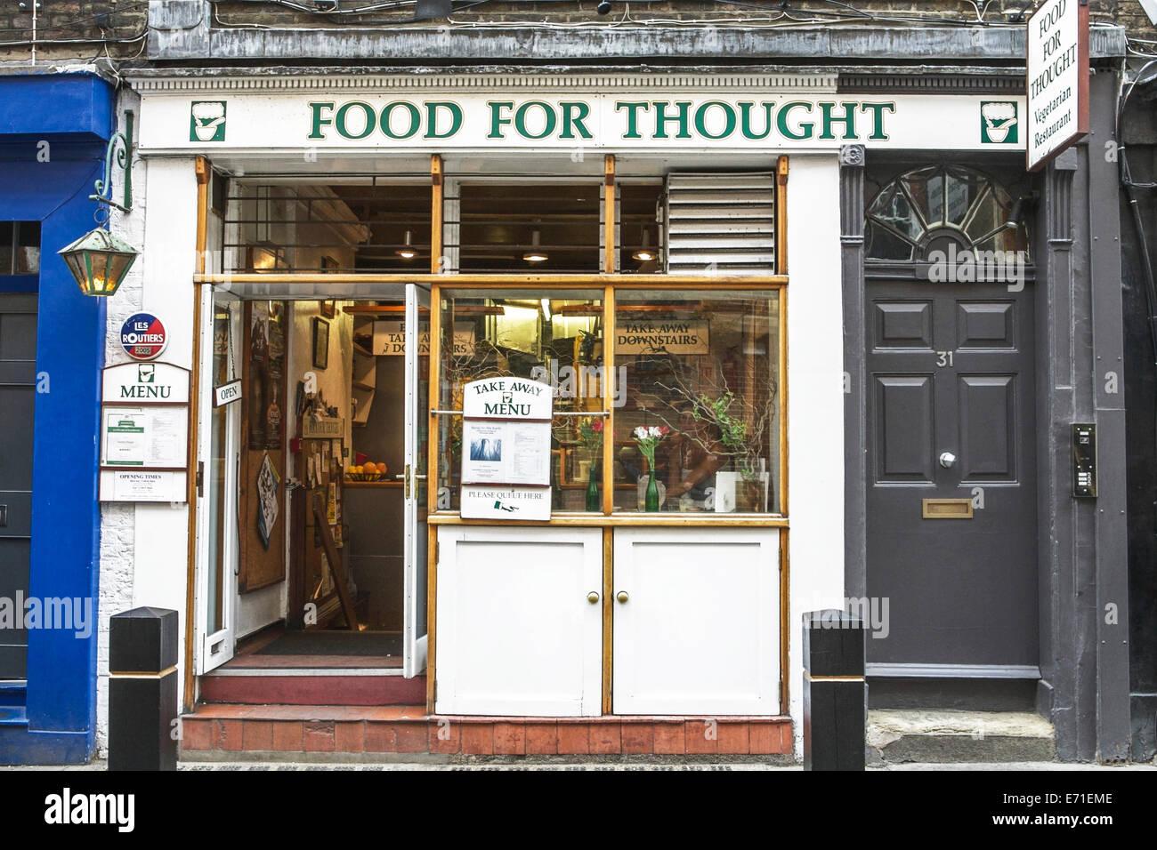 London Vegetarian Restaurant Stock Photos & London Vegetarian ...