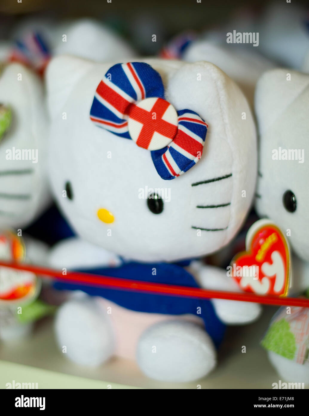 TY brand Hello Kitty toy. - Stock Image