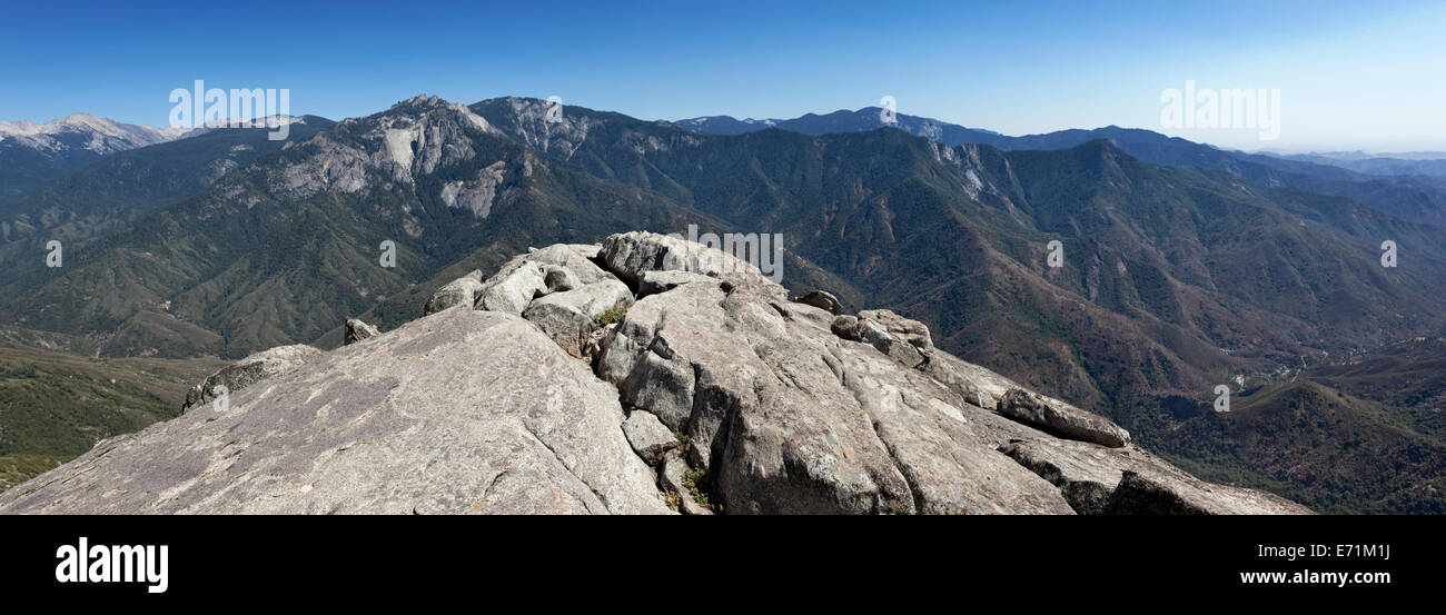 The Sierra Nevada Is A Mountain Range In The Western United States Stock Photo Alamy