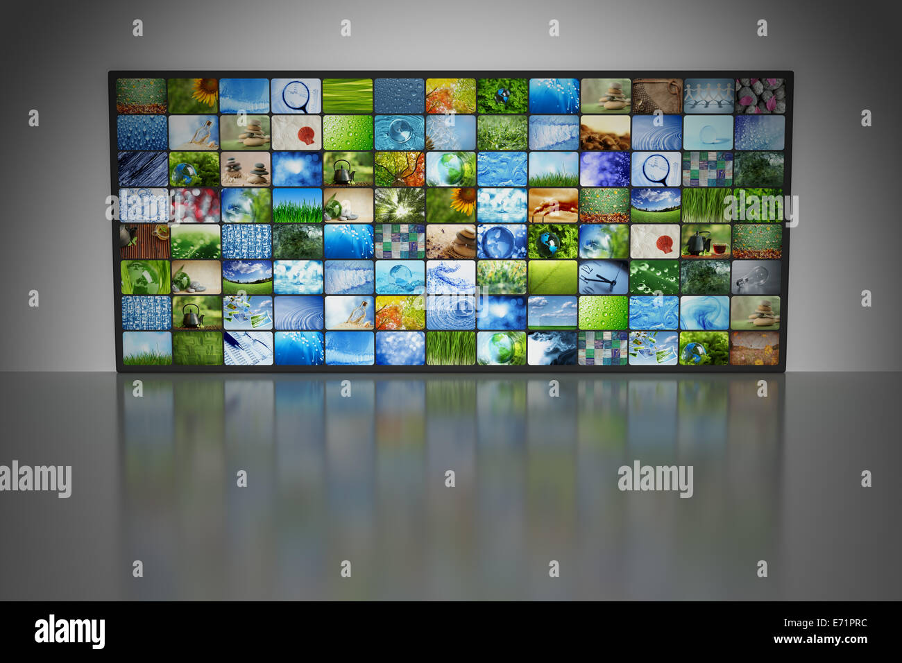 Collections of images - Stock Image