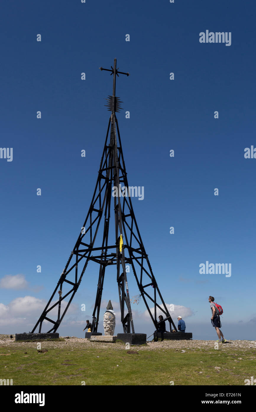 The top of Gorbeia, Euskadi - Stock Image