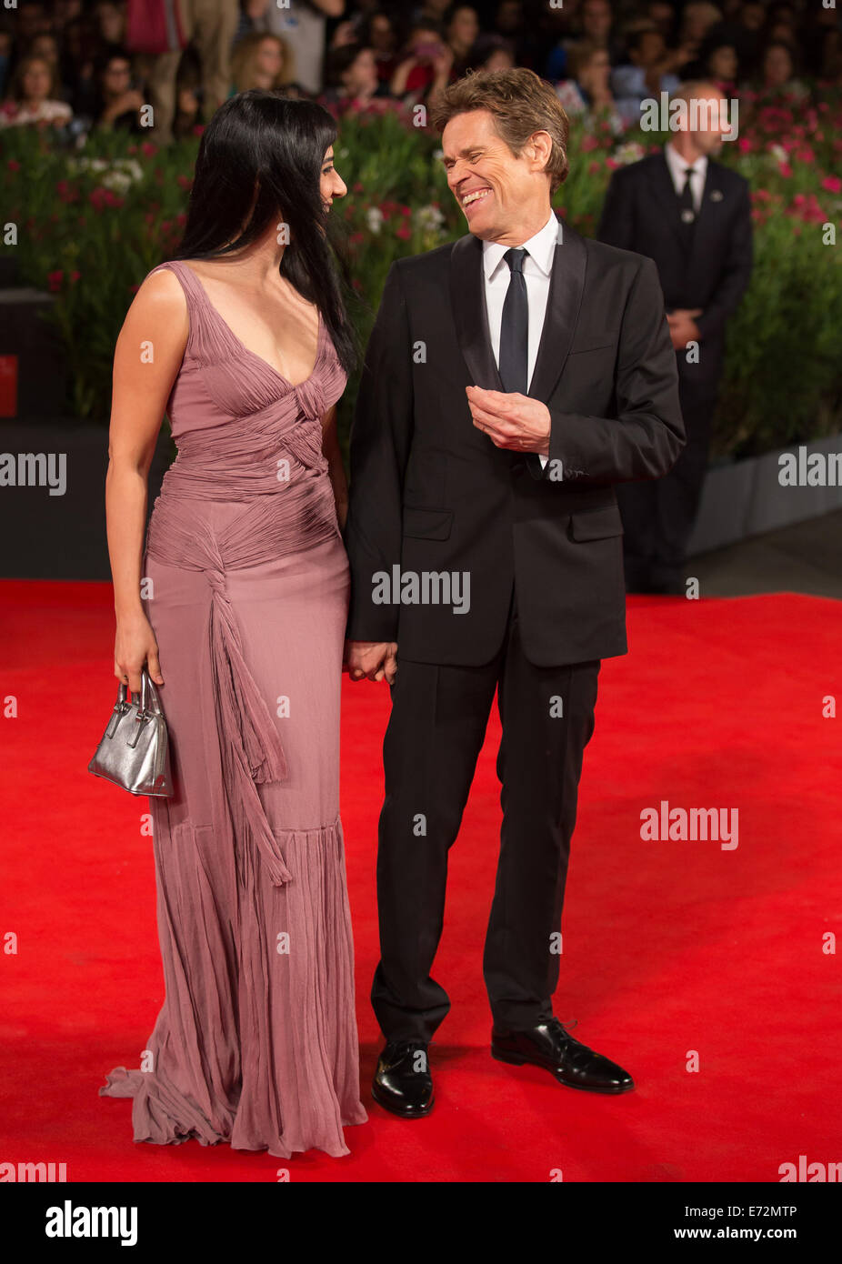 Willem Dafoe Pictures - Celebrity Sightings Day 4 - The ...  Willem Dafoe And Wife