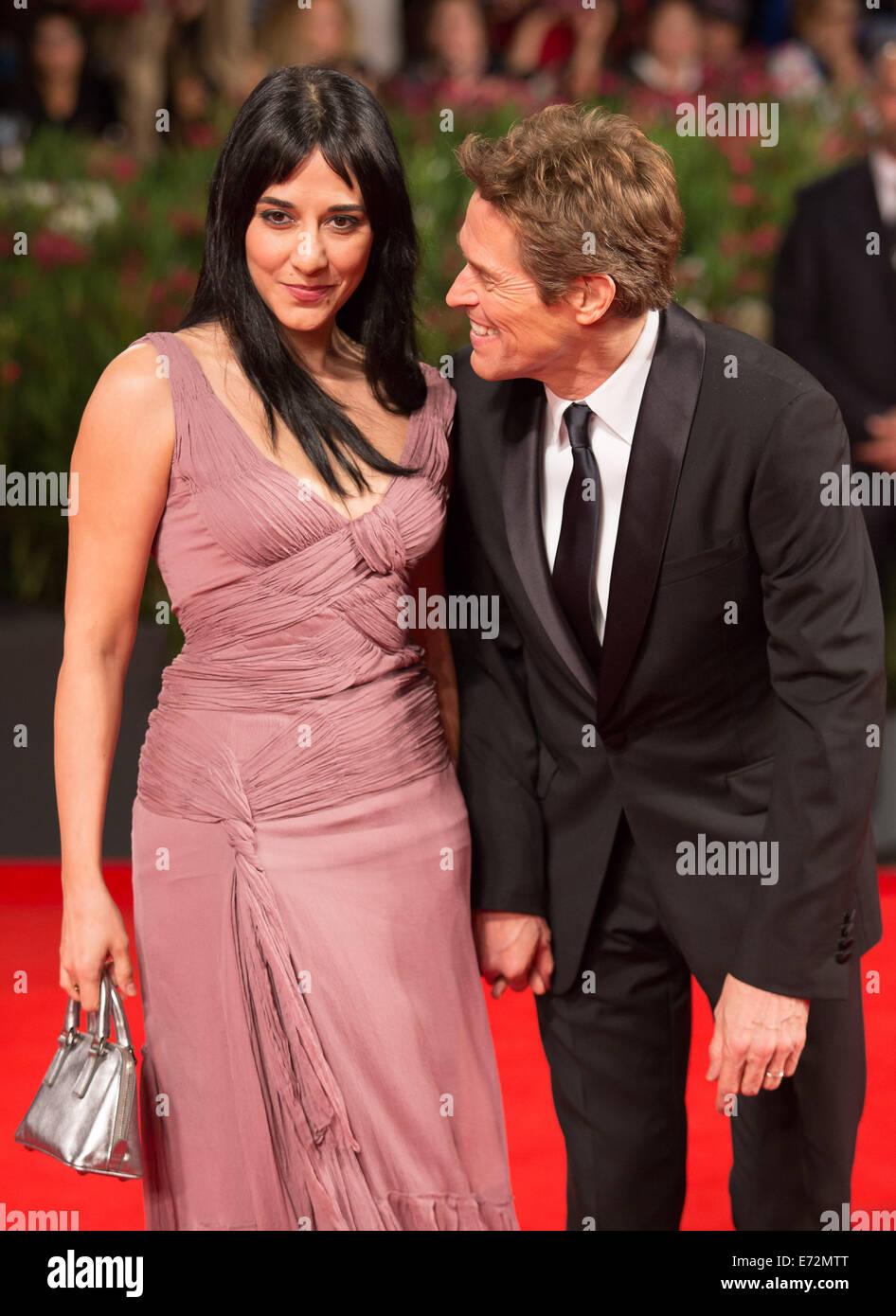 WILLEM DAFOE & WIFE GIADA COLAGRANDE PASOLINI. PREMIERE ...  Willem Dafoe And Wife
