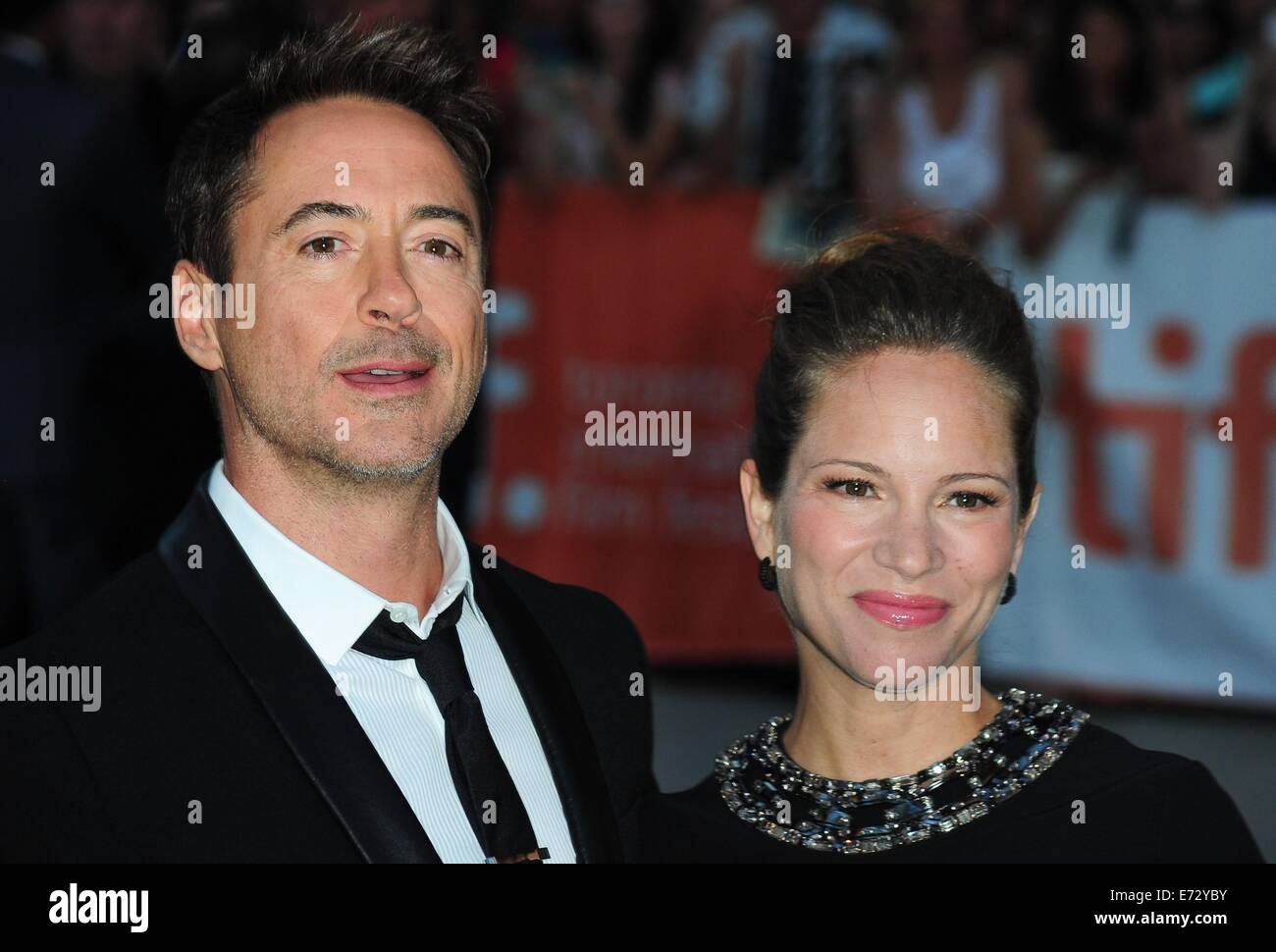 Toronto, CA. 4th Sep, 2014. Robert Downey Jr., Susan Downey at arrivals for THE JUDGE Premiere at the Toronto International - Stock Image