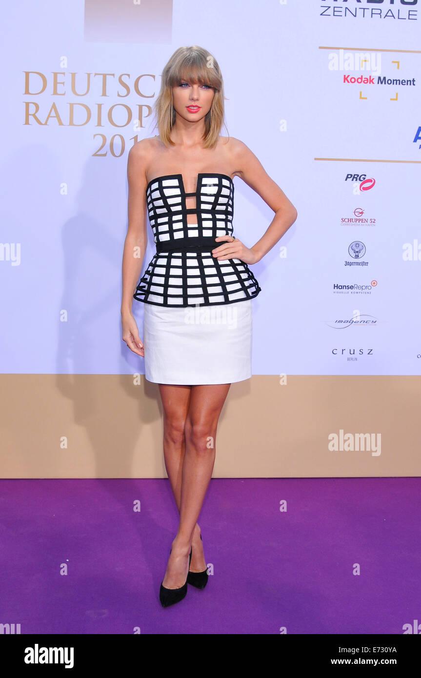 Hamburg Germany 04th Sep 2014 American Singer Taylor Swift Stock Photo Alamy