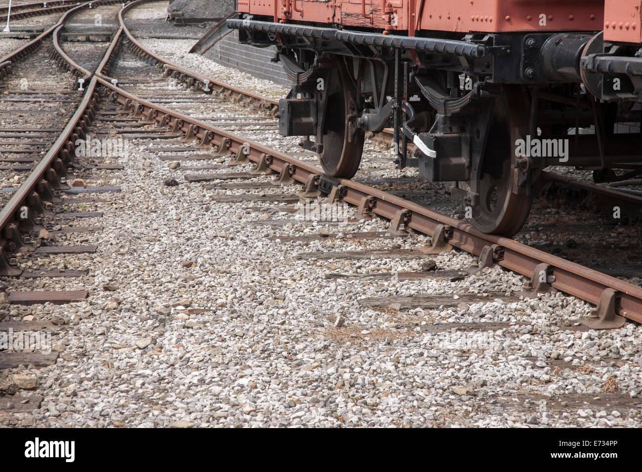 railway track background in urban setting stock photo 73213694 alamy